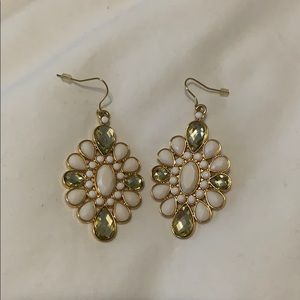 Gold Lilly Pulitzer Statement Earrings